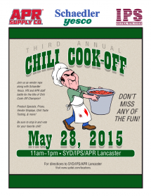 IPS 2015 Chili Cook-Off